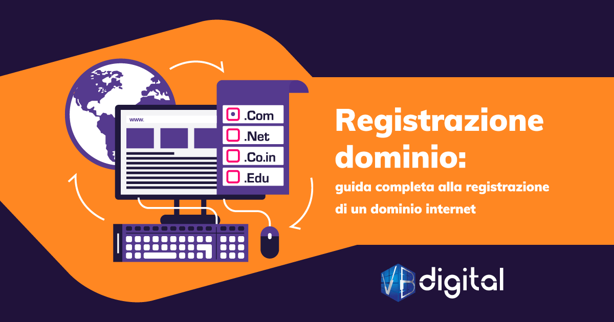 registrazione di un dominio internet