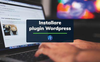 Come installare plugin WordPress