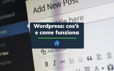 Cos'è WordPress e come funziona?