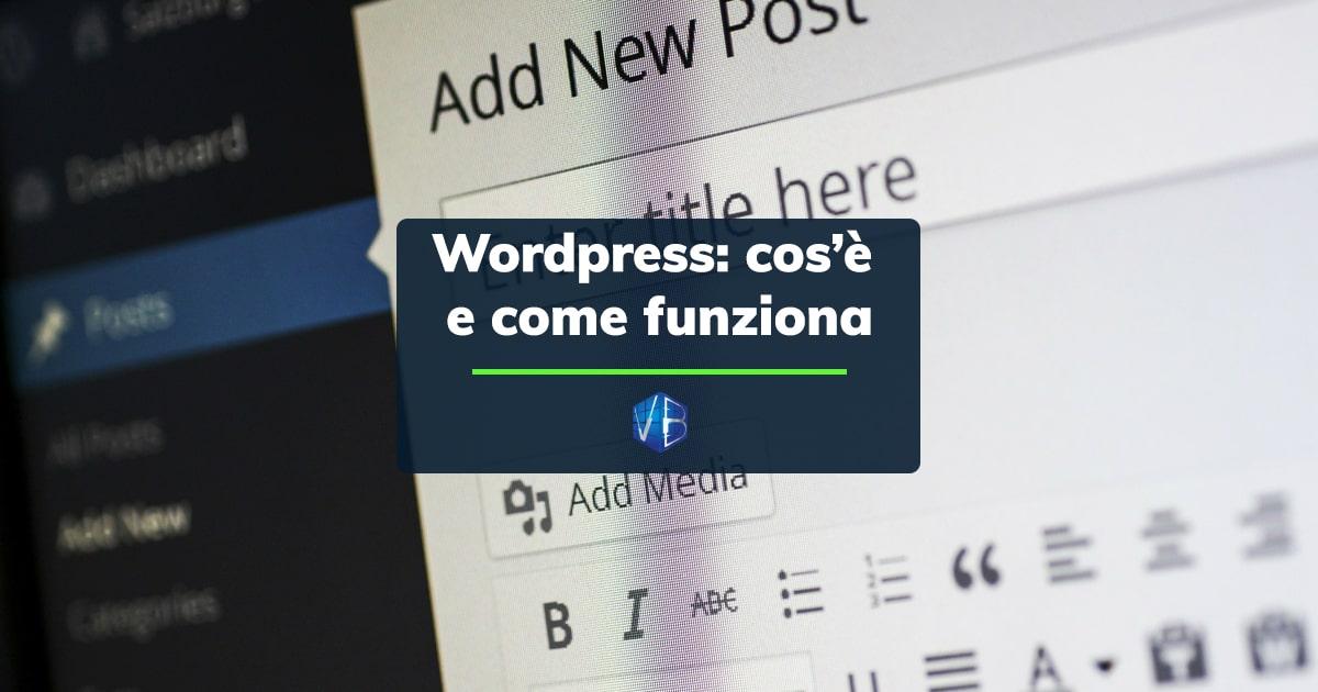 wordpress cos'è