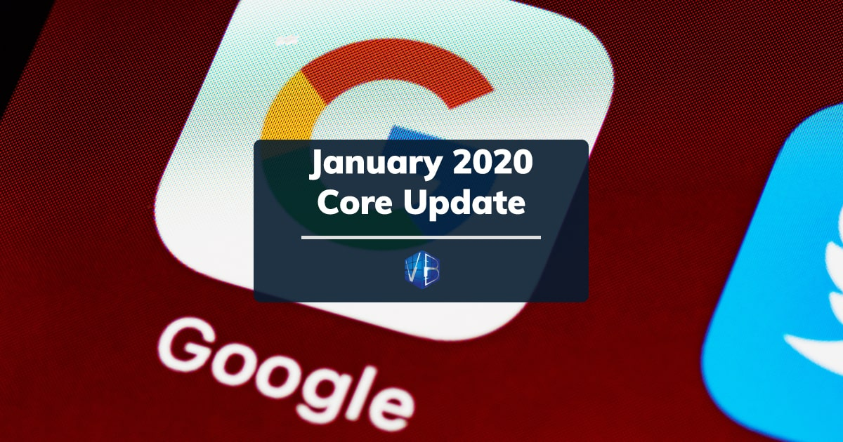 january 2020 core update di google