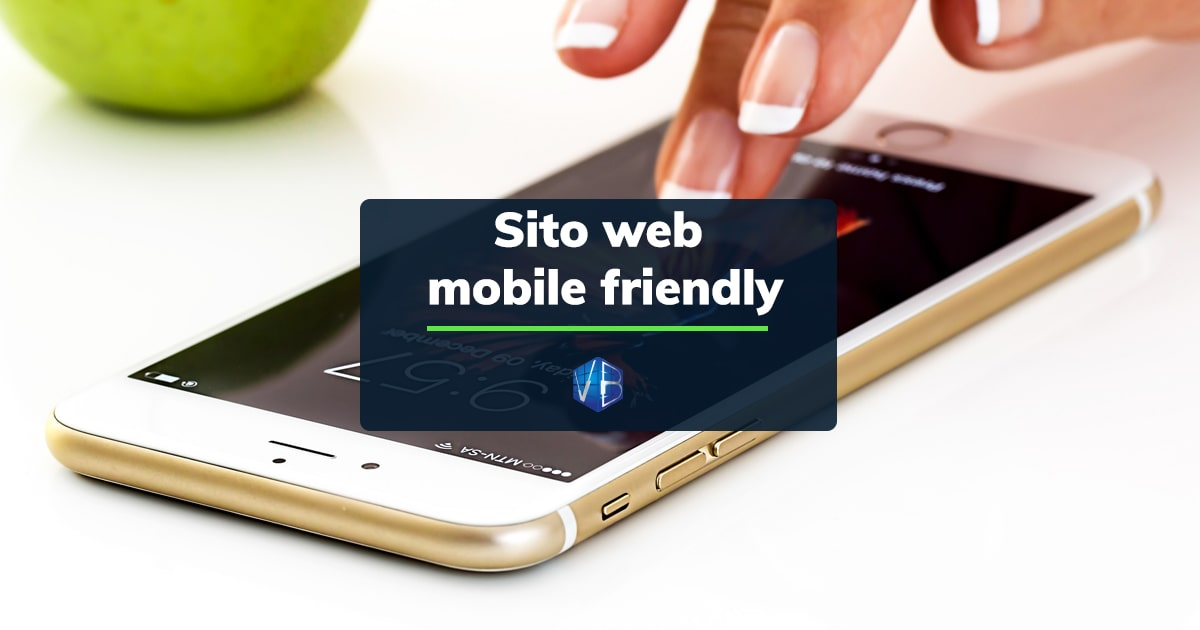 sito web mobile friendly