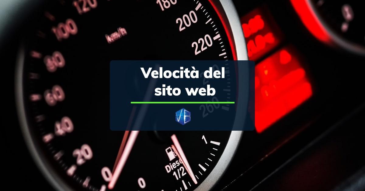 importanza velocità sito internet