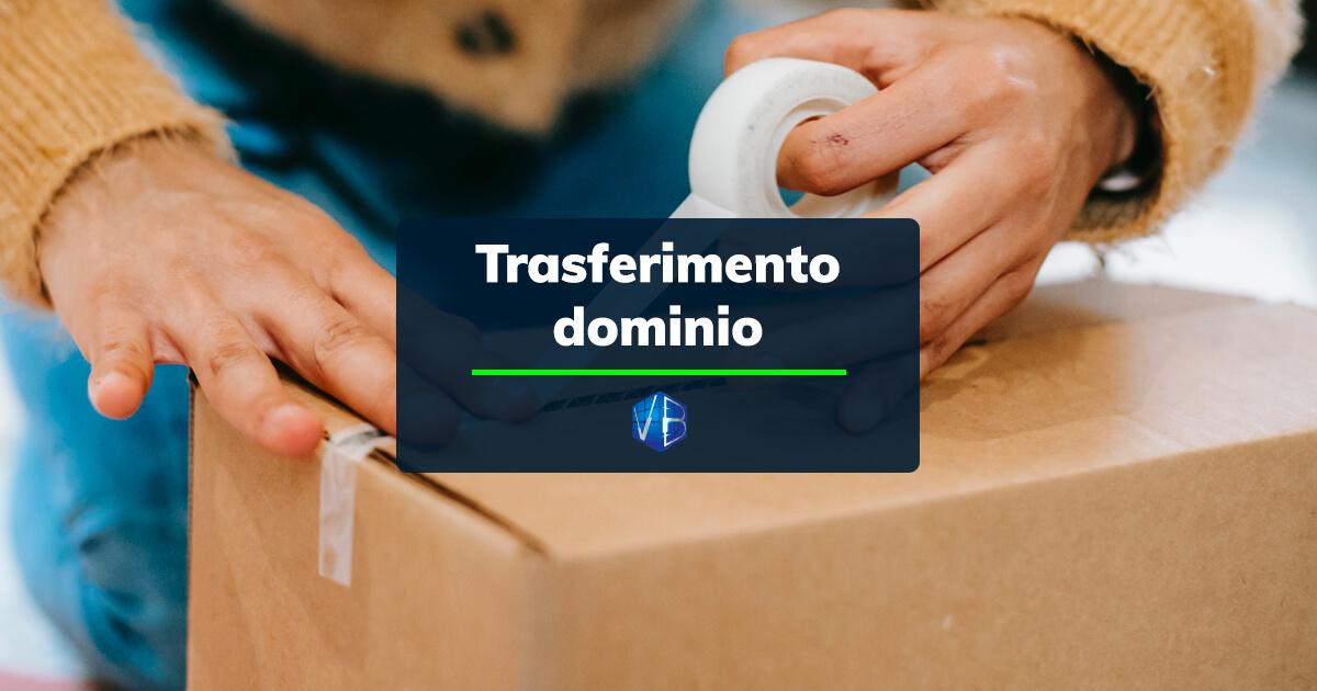 trasferimento dominio
